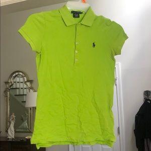 Lime Green Woman's Polo!